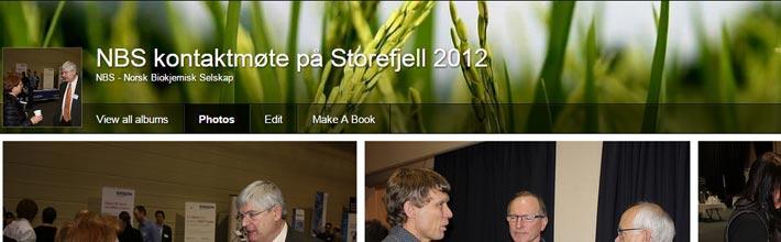 Kontaktmøte 2012 på Storefjell - NBS