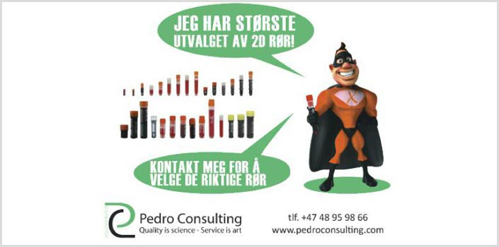 Pedro Consulting - NBS annonse